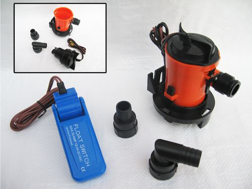 12V Cartridge Submersible Bilge Pumps